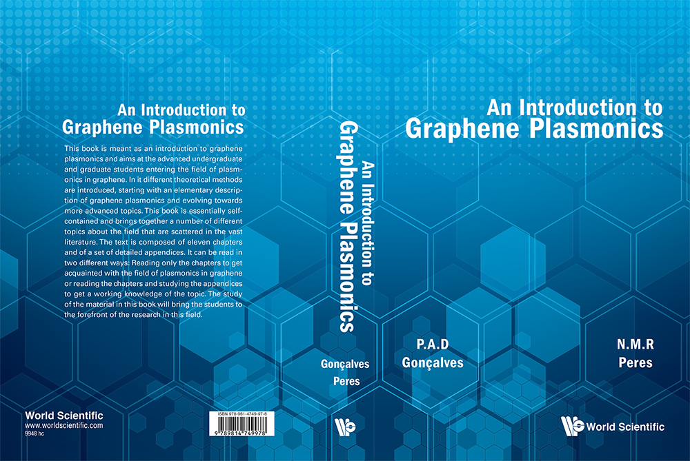 cover-Book on plasmonics in graphene-w